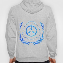 SCP foundation blue crest symbol Hoody