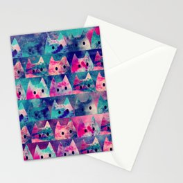 cats-42 Stationery Cards
