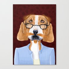 Mr. Retired Canvas Print