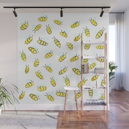 Bumble BaeBees Wall Mural