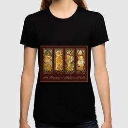 Vintage Art Nouveau - Alphonse Mucha T-shirt