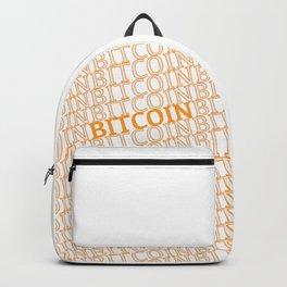 Bitcoin Bitcoin Backpack