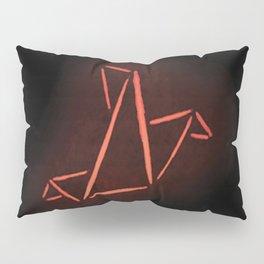 Origami Bird Pillow Sham