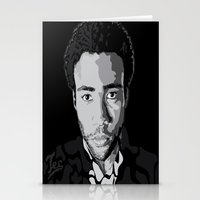 childish gambino Stationery Cards featuring Gambino by Tecnificent