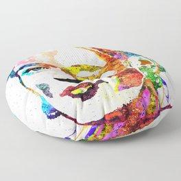 Frida Kahlo Grunge Floor Pillow