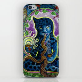 Jaguar Shaman Woman iPhone Skin