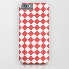 Red Diamonds Slim Case iPhone 6s