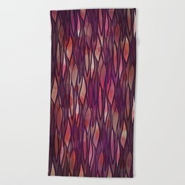 Rouge Willow Beach Towel