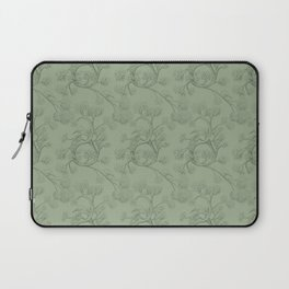 The Night Gardener - Endpapers Laptop Sleeve