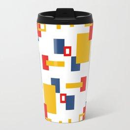 Bauhaus-esque Mid Century Modern 1 Travel Mug