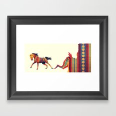 For Maggie - We Got the Fire Framed Art Print