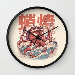 Takoyaki Attack Wall Clock