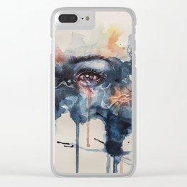 Sad Day Clear iPhone Case