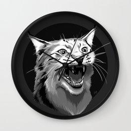 Lynx Wall Clock