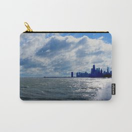 When Sandy Made Waves in Chicago #4 (Chicago Waves Collection) Carry-All Pouch