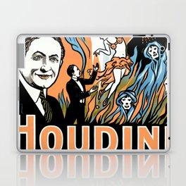 Harry Houdini, do spirits return? Laptop & iPad Skin