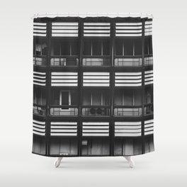 Porches Shower Curtain