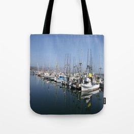 Harbor At Half Moon Bay Tote Bag