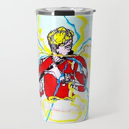 BACH :  Solo for Transverse Flute               by Kay Lipton Travel Mug