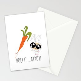HOLY C...ARROT! Stationery Cards