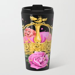Queen crown Metal Travel Mug
