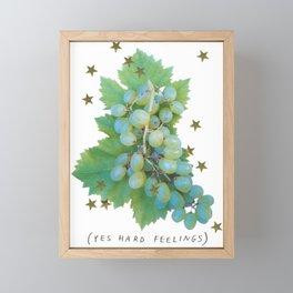 (YES HARD FEELINGS) Framed Mini Art Print