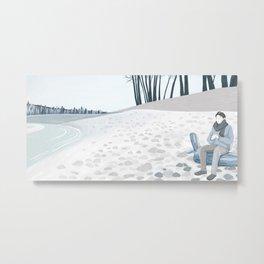 A Cold Winter Metal Print