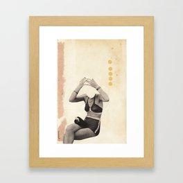 Losing my Head Framed Art Print