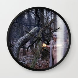 no canary at night Wall Clock