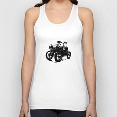 Old Car Unisex Tank Top