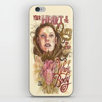 Heart is the Queen iPhone & iPod Skin