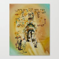 israel Canvas Prints featuring Israel 4 by CarolBoerckel