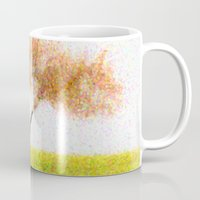 tree of life Mugs featuring Life Tree by Johnny Costa