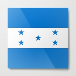 Honduras flag Metal Print