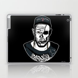 Golf Wang - Tyler The Creator Skull Ink Print Laptop & iPad Skin