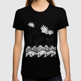 Three Spring Flowers T-shirt
