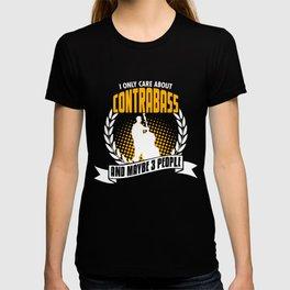 Funny Contrabass T-Shirt Christmas Gift T-shirt