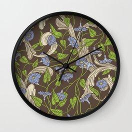 Victorian Garden 5 - Larger Pattern Wall Clock