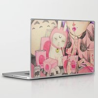 loll3 Laptop & iPad Skins featuring Noodle Eater by lOll3