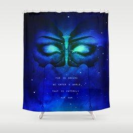 Dreams full of Diamonds Shower Curtain