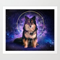doge Art Prints featuring Doge by Verneri Kontto