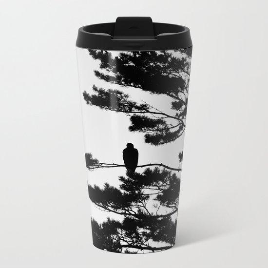 Silhouette Metal Travel Mug