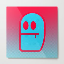 Grubbo Tempcolor Balance. Metal Print