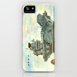 HMS Queen Elizabeth - Homecoming Procedure Alpha iPhone Case
