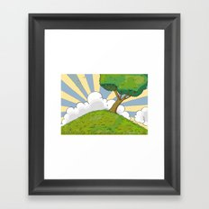 I want to be there Framed Art Print