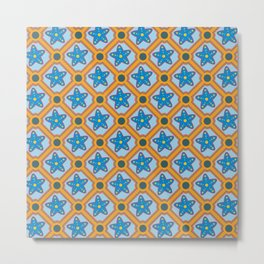 Tile 2  Metal Print