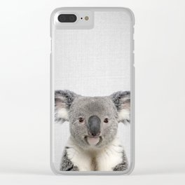 Koala 2 - Colorful Clear iPhone Case