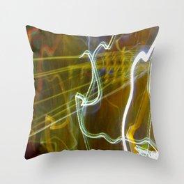 Dancing Energy (Kundalini Power) Throw Pillow