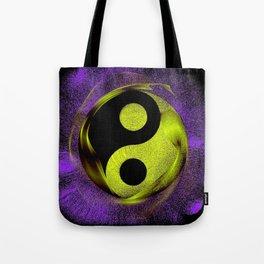 yin yang Ensō zen buddhism purple anise Tote Bag