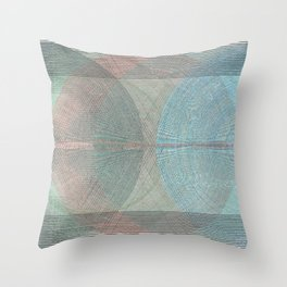 The Magnificent Cannon Ball Fiasco Throw Pillow